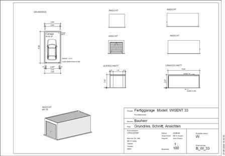 betongaragen sicher g nstig kaufen. Black Bedroom Furniture Sets. Home Design Ideas