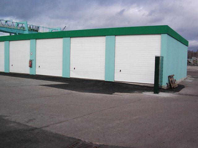 LKW Garage als Fertiggarage